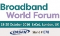 Fibrain hand in hand with DASAN Networks on Broadband World Forum 2016!