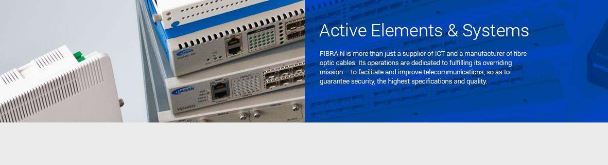 Sieciowe Urządzenia Aktywne - GPON, FTTH, konwertery